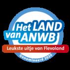 Leukste Uitje Flevoland ANWB Genomineerd logo