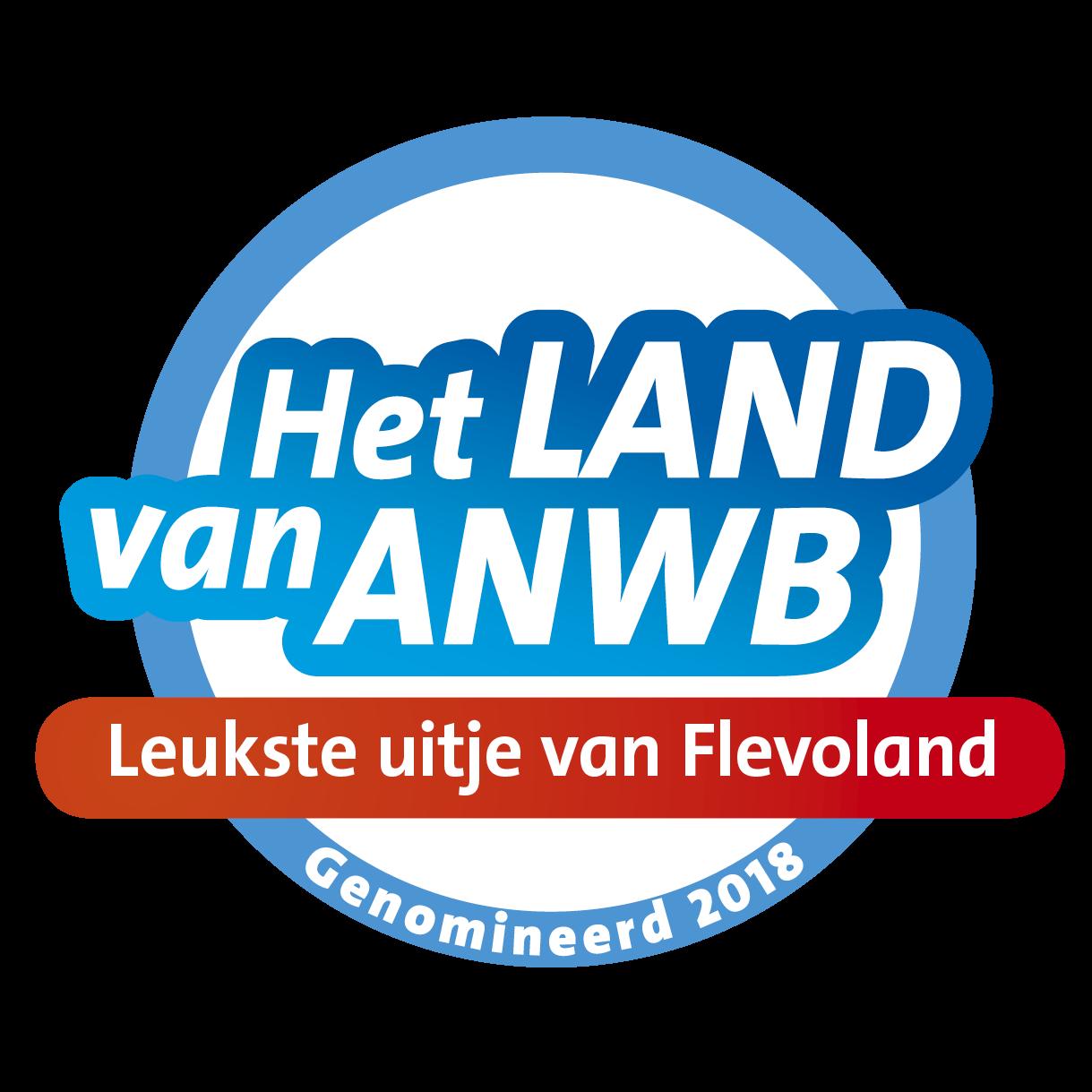 Leukste uitje van Flevoland, ANWB nominatie