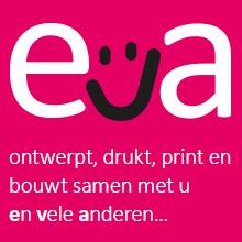 logo EVA grafische vormgeving