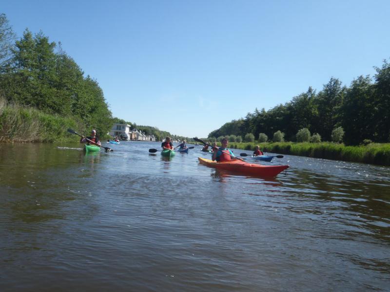 kano's varen bij Almere