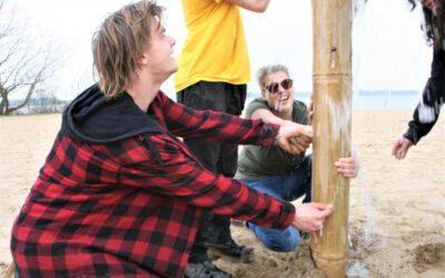 teambuilding op het strand