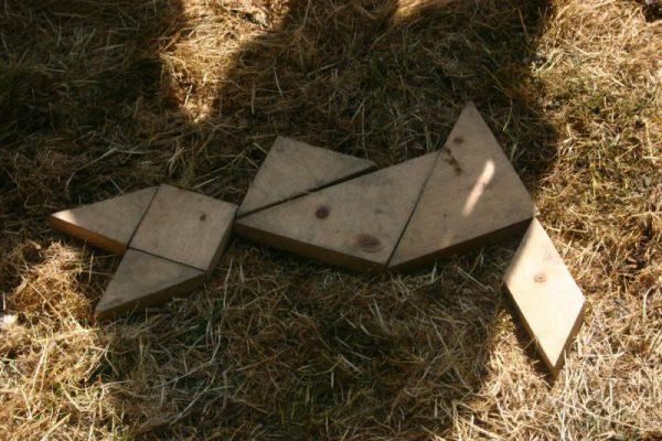 puzzel tijdens boerengolf