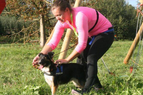 baasje met hond tijdens expeditie Dierendag