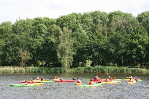 kano in Almere schoolreisje