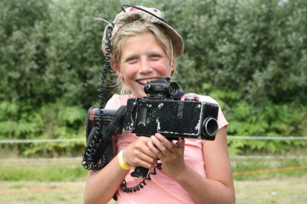 Meisje met lasergun in Almere
