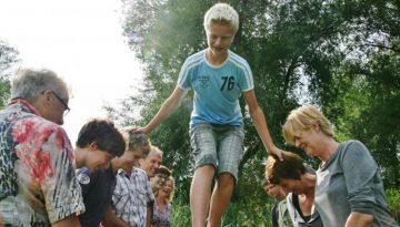 Jongen tijdens familieuitje in Almere