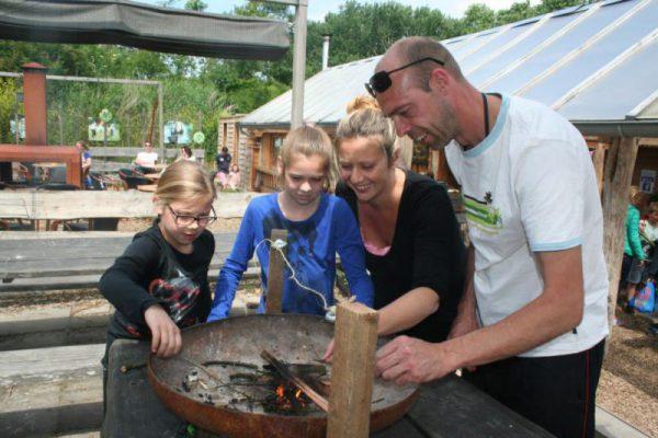 Familie op expeditie