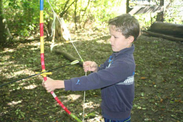 Boogschieten-kinderfeestje-actief-buiten-Almere-noresize