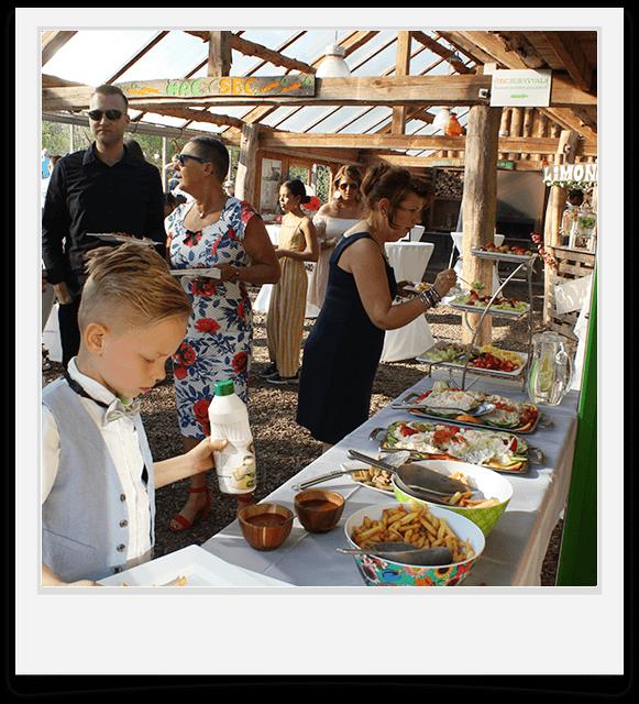 familiefeest met buffet