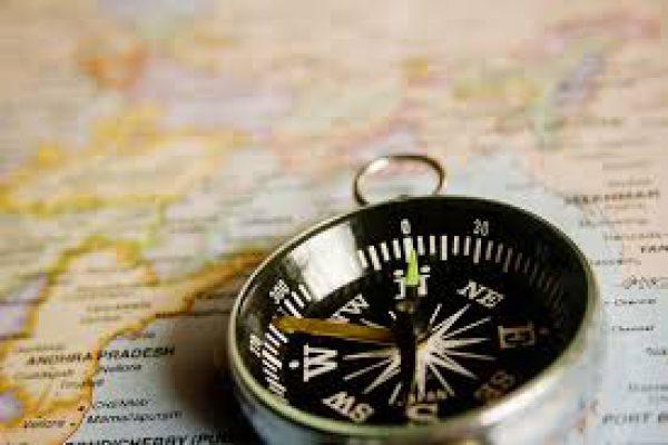 kompas, navigeren met kompas