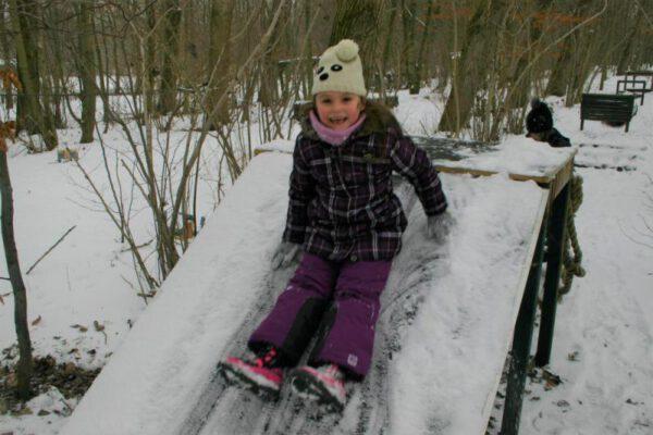 Winter kinderfeestje actief