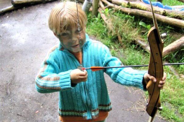 Boogschieten-kinderfeestje-herfst