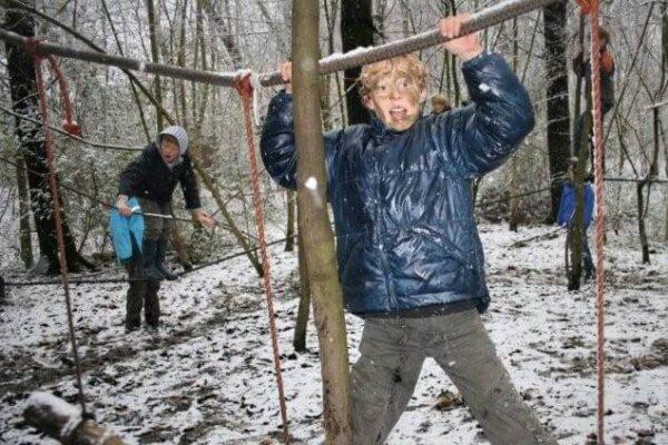 Winter-actief-kinderfeestje-survival