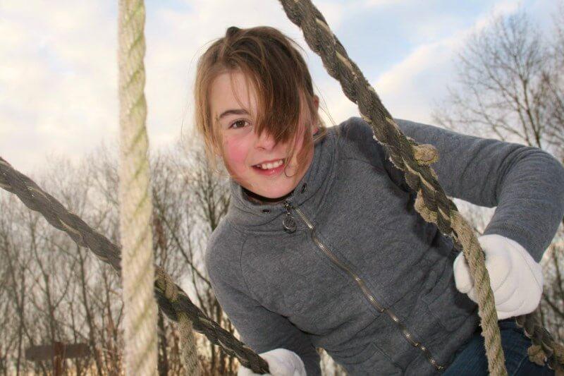 Winter kinderfeestje survival touwen