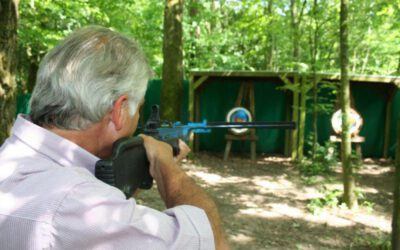 Man schiet op doel tijdens uitje in Almere