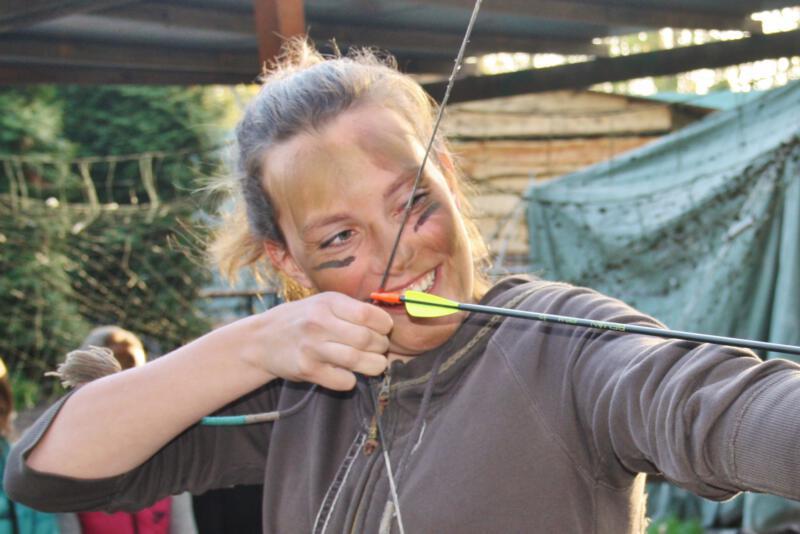 Sportdag Almere Boogschieten Survival