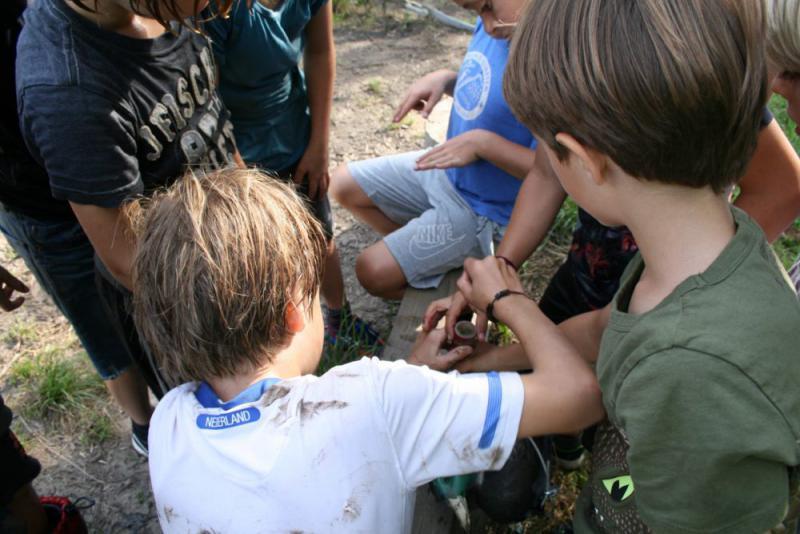 leerlingen werken samen