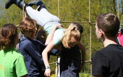 teambuilding met scholieren