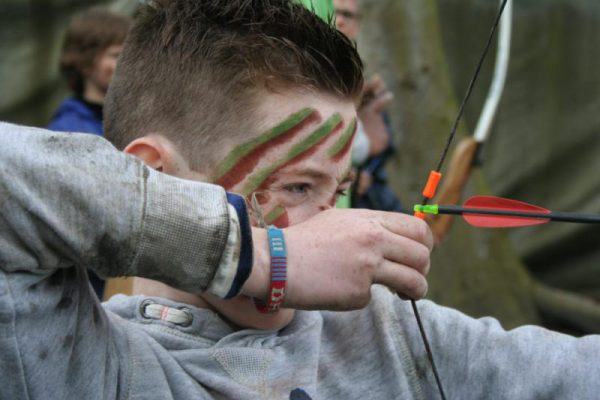 Jeugd boogschieten Kinderfeestje Almere